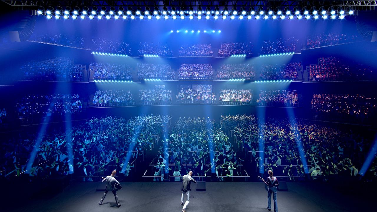 シアター ガーデン 東京ガーデンシアター(有明)、アリーナ〜5階席からのステージの見え方と座席表 アーティストと客席が近い!