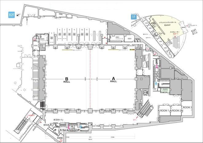 ベルサール高田馬場 平面図